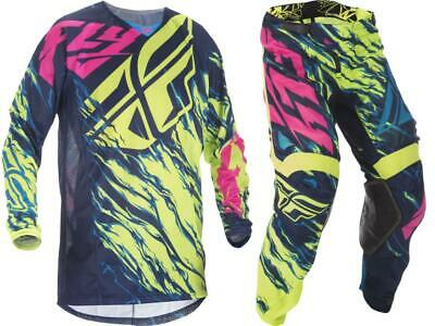 Fly Racing Kinetic Mesh Jersey Pant Combo Set MX Riding Gear MX/ATV/BMX 2017