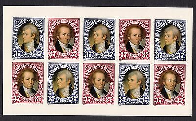 US Scott #3855 - 3856 Lewis and Clark Bicentennial 1 Pane of 10 S/A Stamps, MNH