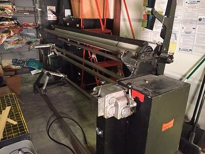 """84"""" Wide Measuregraph Machine To Inspect and Measure Textile Fabrics"""