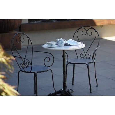 BELLA IRON CHAIR - ONLY $68 each - french parisian bistro metal provincial seat
