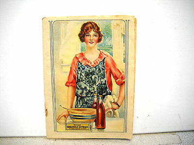Antique Hires Root beer Advertising and Recipes Pamphlet