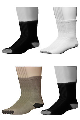 Mens Crew Socks - Athletic Socks - Heavy Weight - 3, 6, 12 pair