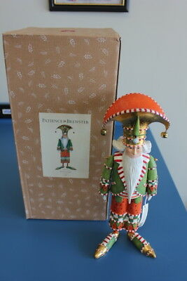 Christmas Krinkles NUTCRACKER FIGURE Patience Brewster Dept 56 w/ Box  08-30824