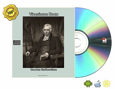 Vicesimus Knox Works Despotism Elegant extracts Essay 24 eBooks Collection CDROM