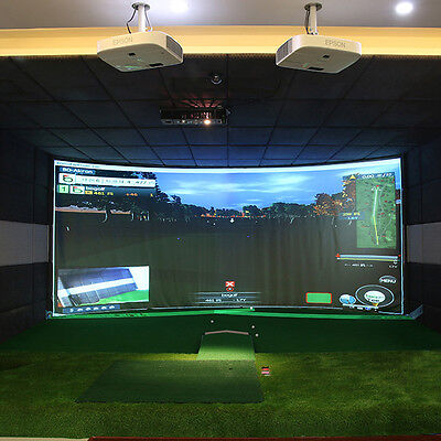 Y2R3 10''x6.7'' Indoor Golf Ball Simulator Impact Display Yes Projection Screen