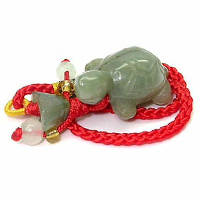 44.16ct MONEY TURTLE CARVING NATURAL JADE LUCKY CHARM