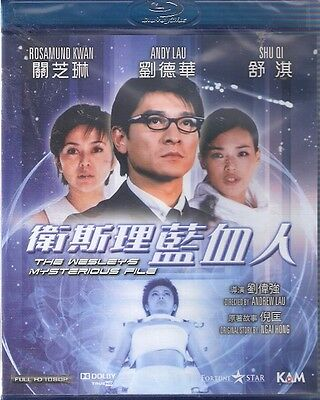 The Wesley's Mysterious File Blu Ray Andy Lau Shu Qi Rosamund Kwan NEW Eng Sub