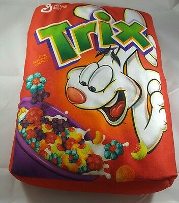 RARE GENERAL MILLS TRIX CEREAL PILLOW Rabbit