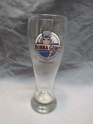 Big 22 oz Bubba Gump Shrimp Co Beer Glass - Honolulu