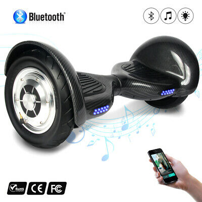 Bluetooth Hoverboard 10'' Smart Balance Monopattino Elettrico Pedana Scooter