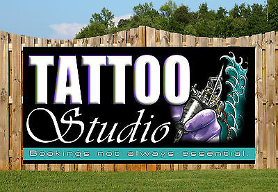 Tattoo Shop Studio Ink Gun Pvc Banners Printed Outdoor Sign Banners