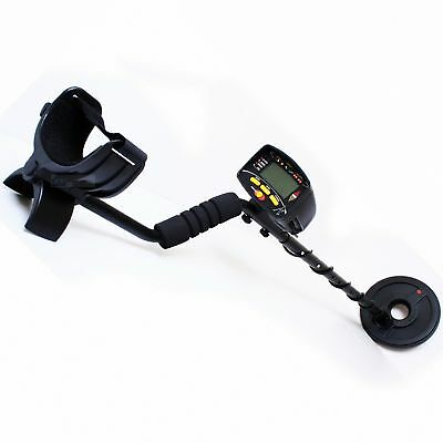 Metal Detector LCD Professional Treasure Hunting 22cm Fully Discriminating Coil