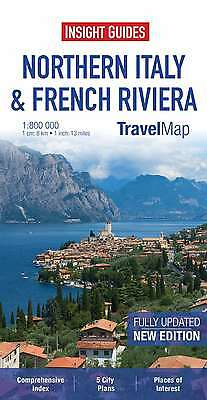 Insight Travel Map: Northern Italy & French Riviera (Insight Travel Maps), , New
