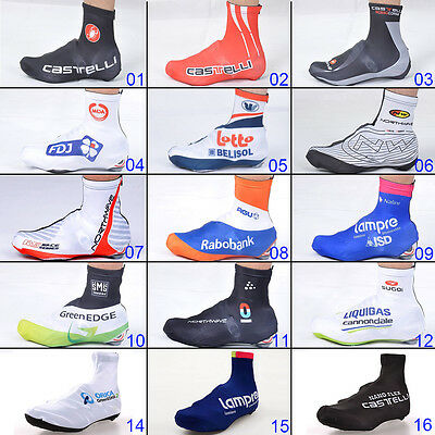 New Fashion Cycling Shoe Covers Bicycle MTB Road Zippered Overshoes Size M L XL