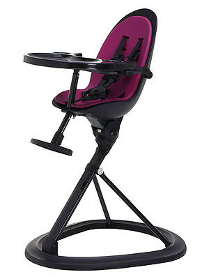 Ickle Bubba Orb Baby Highchair - Purple/Black - NEW