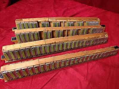 F. Piatanesi World Fair Accordion Repair Part - Treble Reeds LMMM 4x41