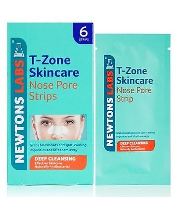 Newtons Labs T-Zone Skincare Nose Pore Strips Deep Cleansing Blackheads
