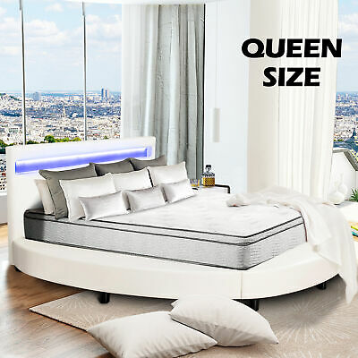 5914087a44a4 Full Size Metal Bed Frame Platform Headboards with 6 Legs Furniture Bedroom