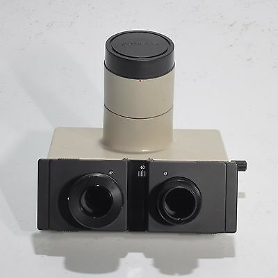 Olympus 3-Position Trinocular Head With Photo Tube For Bh Series Microscope