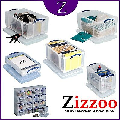 Really Useful Boxes - Genuine Item - Various Sizes & Quantities - Free P&p!