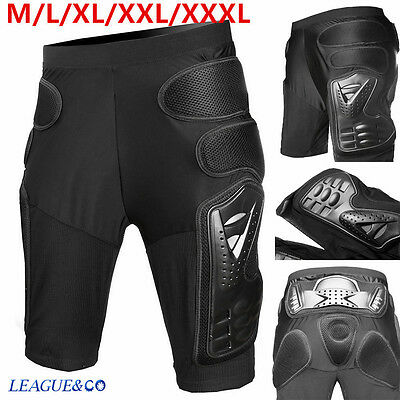 Motorcycle Motocross Racing Skiing Armor Pads Hips Legs Protector Shorts Pants z