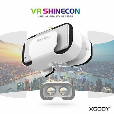 2017 Universal VR Shinecon 3D Glasses for smartphone iphone samsung LG 4.5-6.0''
