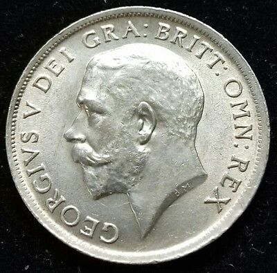 1916 Shilling. High Grade With Much Lustre. George V British Silver Coins.
