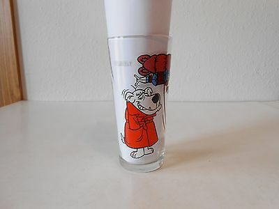 1977 Pepsi Hanna Barbera Mumbly Collectors Glass 6 5/16""