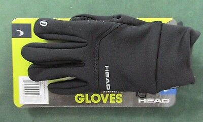 "Head Digital Sport Running Gloves with Sensatec ""Touch Screen Compatible"""