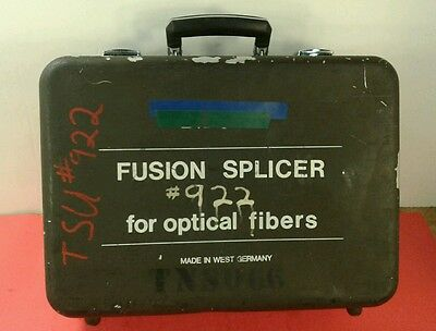 SIECOR M67 Fusion Splicer Optical w/ Single-Mode Fiber Module M67-000.  6D
