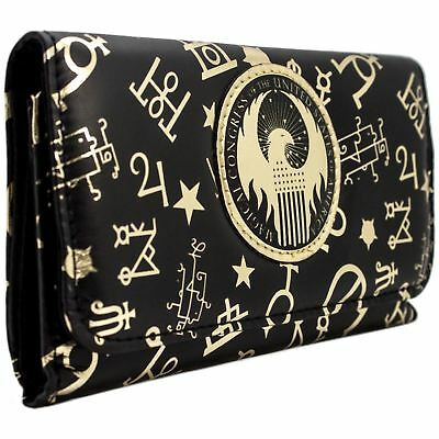 New Official Fantastic Beasts Magical Congress Pattern Coin & Card Clutch Purse