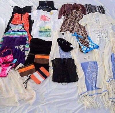 NEW Wholesale Liquidation Lot Womens Clothing Boho Plus Accessories Swim Summer
