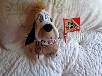 Vintage 1990 Applause Droopy Dog Tom & Jerry Show I'm So Happy Plush Doll Figure