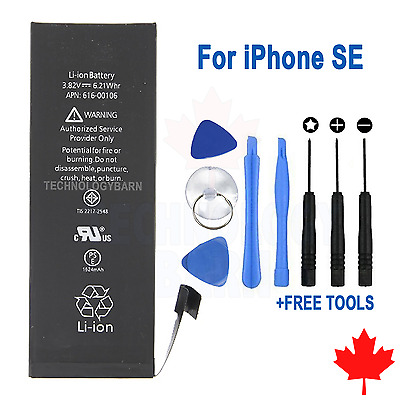 Brand NEW Replacement Battery for iPhone SE 1624mAh With FREE Repair Tools