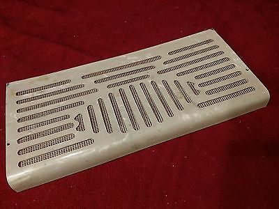 "Cream Elettra Accordion Repair Part - Treble Grill 10.25"" x 4.75"" x .75"""