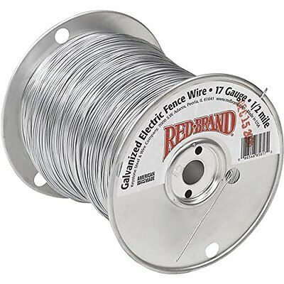 "Electric Fence Wire, 1/4"" 17 Gauge"