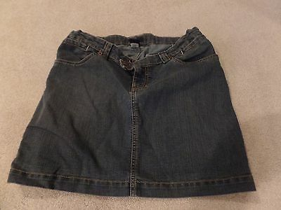 Women Maternity Skirt, Gap, Blue Jean Style, Size: 4, Excellent Condition