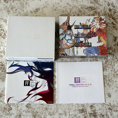 Final Fantasy IV V VI Original Soundtrack CD Finest Box Japan GBA Prize Limited