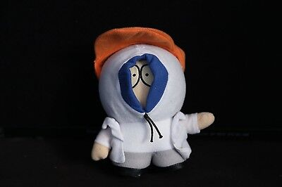 "South Park 5"" FINGERBANG KENNY White Plush Toy Doll in Orange Visor RARE"