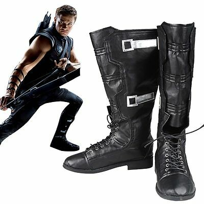 Marvel The Avengers 1 Boots Hawkeye Clinton Francis Barton Shoes Accessories