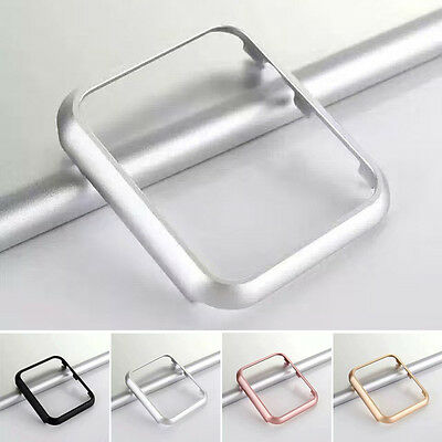 For Apple Watch Protective Case Cover iWatch Bumper Protector 38/42mm New Silver