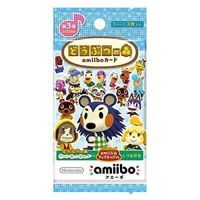 Animal Crossing Amiibo Card 3rd (5 Pack Set) Import Japan