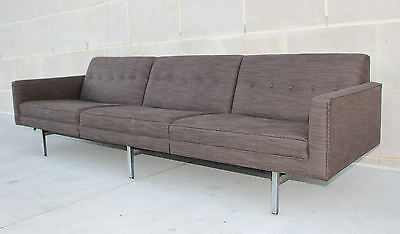 Amazing GEORGE NELSON Herman Miller Vintage MID CENTURY MODERN SOFA Couch