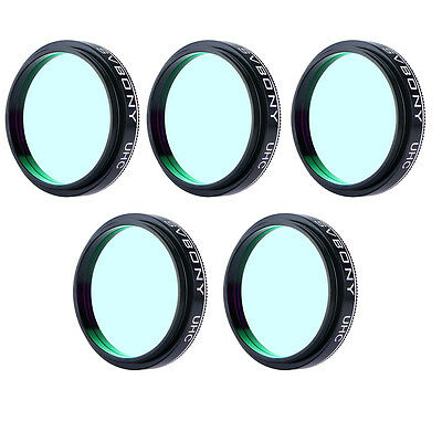 5pcs SVBONY 1.25 inch UHC Filter for Observations of Deep-Sky Objects Best