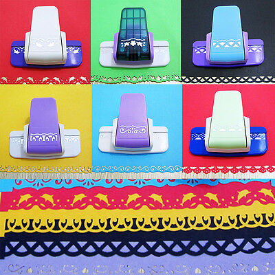 Embossing Device Cute DIY Craft Paper Punch Border Cutter Scrapbooking Tags Tool