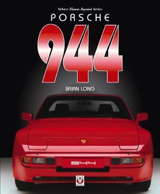 Porsche 944 by Brian Long Paperback Book Free Shipping!