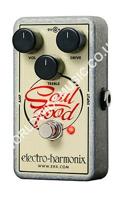 EHX Electro Harmonix Soul Food Distortion / Fuzz / Overdrive Guitar FX Pedal
