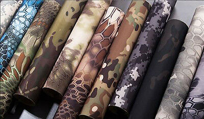 Elastic Camo Self-adhesive Cloth Stretchy Paster Tactical DIY 30x150cm 18 Color