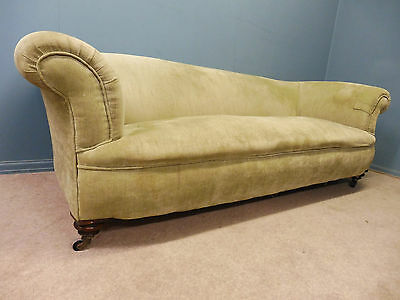 LARGE ANTIQUE VICTORIAN CHESTERFIELD SOFA  circa 1860-1880