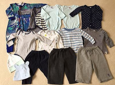 Pre-loved Baby Boy's Winter Bundle, Size 0, All 14 Items In Great Used Condition